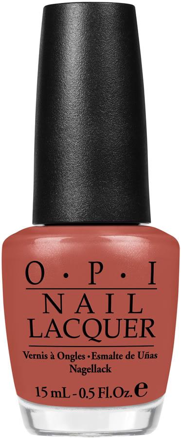 OPI Лак для ногтей Schnapps out of it!, 15 млNLG22Лак для ногтей OPI быстросохнущий, содержит натуральный шелк и аминокислоты. Увлажняет и ухаживает за ногтями. Форма флакона, колпачка и кисти специально разработаны для удобного использования и запатентованы.