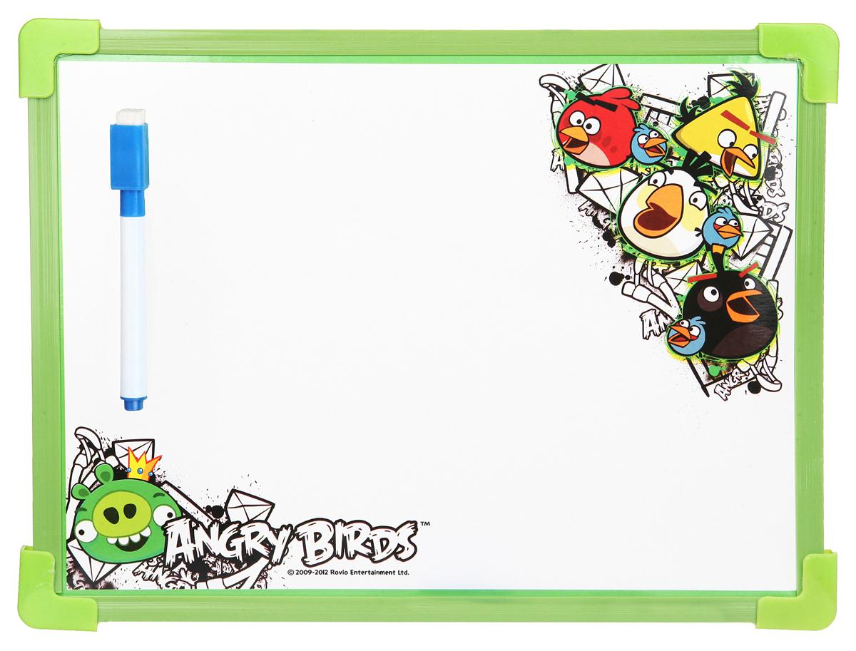 Angry Birds Доска для рисования цвет зеленый