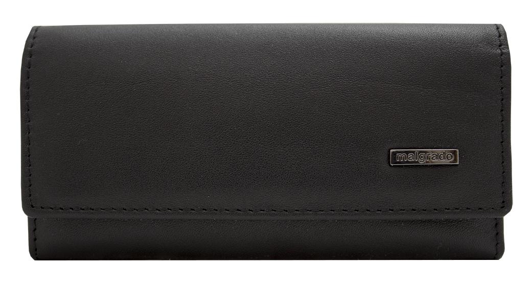Ключница Malgrado, цвет: черный. 47006-55D