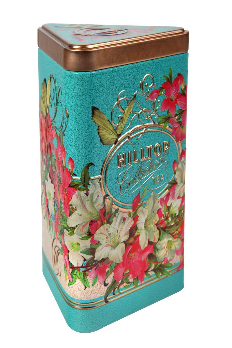 Hilltop Букет лилий зеленый листовой чай, 80 г4607099303256Крупнолистовой зеленый чай Hilltop Букет лилий с лепестками жасмина.