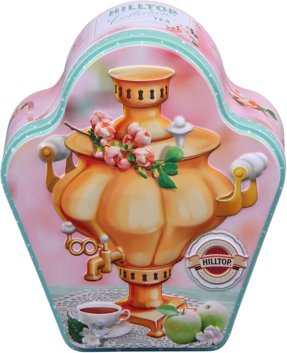Hilltop Русское чаепитие черный листовой чай, 100 г4607099304901Hilltop Русское чаепитие - черный чай стандарта Супер Пеко с лучших плантаций Цейлона. Выращен в экологически чистой зоне. Настой с глубоким золотистым цветом и изумительным ароматом.