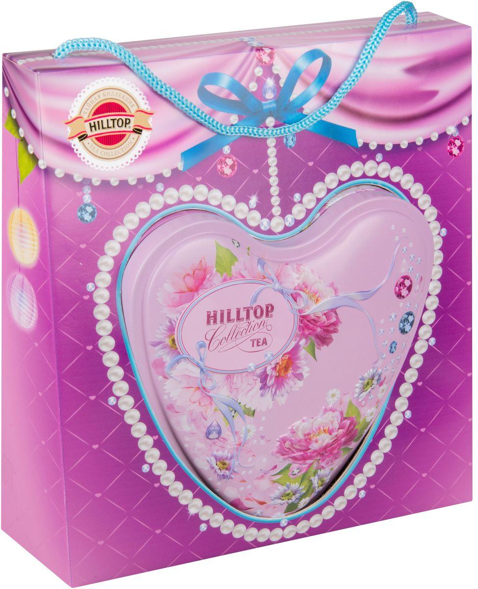 Hilltop Нежное признание Подарок Цейлона черный листовой чай, 80 г4607099305427Hilltop Нежное признание Подарок Цейлона - крупнолистовой цейлонский черный чай с глубоким, насыщенным вкусом и изумительным ароматом. Благодаря красивой праздничной упаковке вы можете подарить этот прекрасный чай своим друзьям и близким.