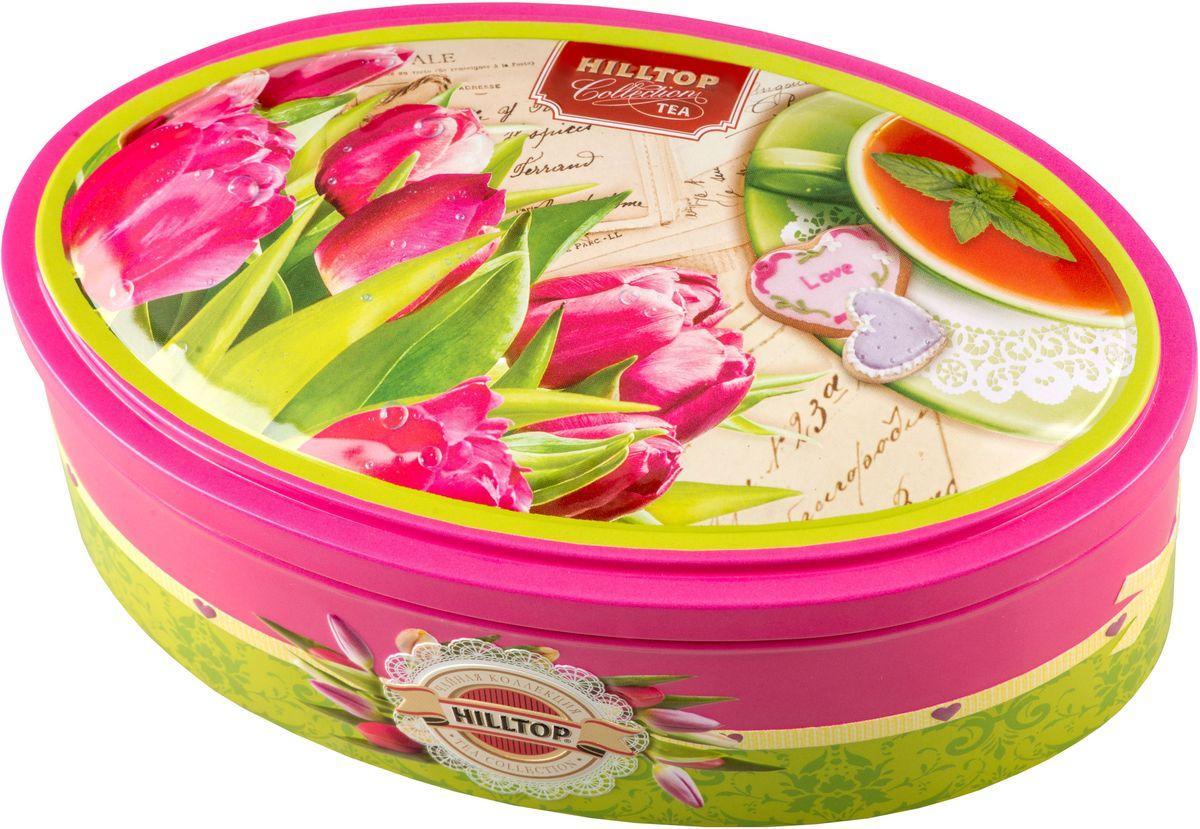 Hilltop Розовые тюльпаны. Цейлонское утро черный листовой чай, 100 г4607099306271Hilltop Розовые тюльпаны. Цейлонское утро - классический цейлонский черный чай с терпким вкусом, мягким ароматом и тонизирующими свойствами. Отлично дополняет завтрак или праздничный сладкий стол.
