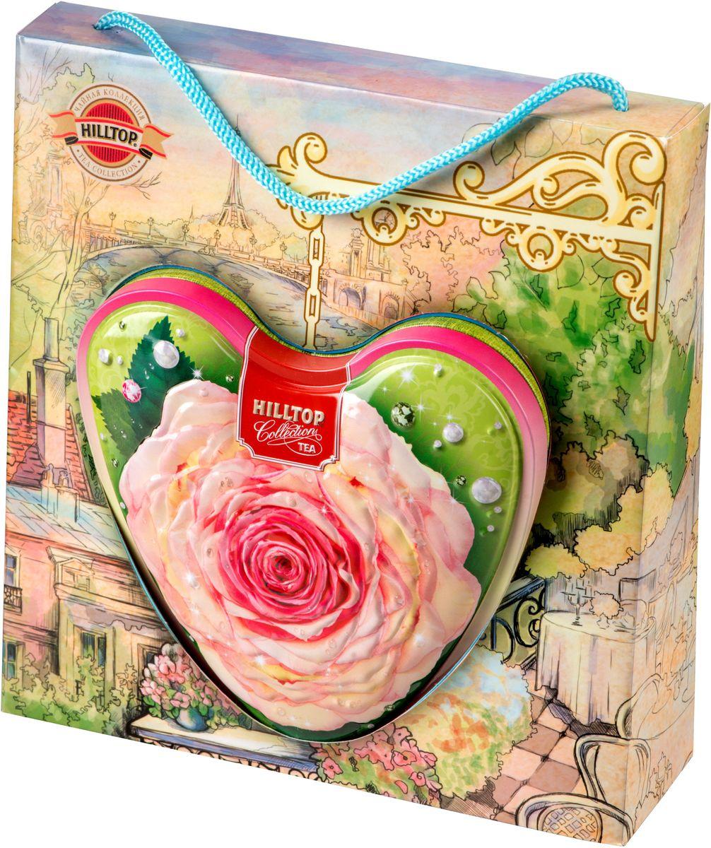 Hilltop Чайная роза листовой чай оолонг, 80 г4607099306325Hilltop Чайная роза - знаменитый китайский полуферментированный чай оолонг с нежным ароматом свежих сливок.