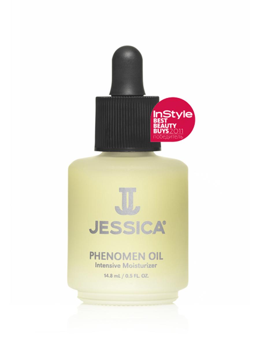 Jessica Интенсивное увлажняющее средство с миндальном маслом Phenomen Oil 14,8 млUP 160Обладает смягчающим, питательным, и влагоудерживающим действием. Замедляет рост кутикулы. Способствует росту и эластичности ногтей. В комбинации с NOURISH работает как высокоинтенсивная терапия для сухой кутикулы.