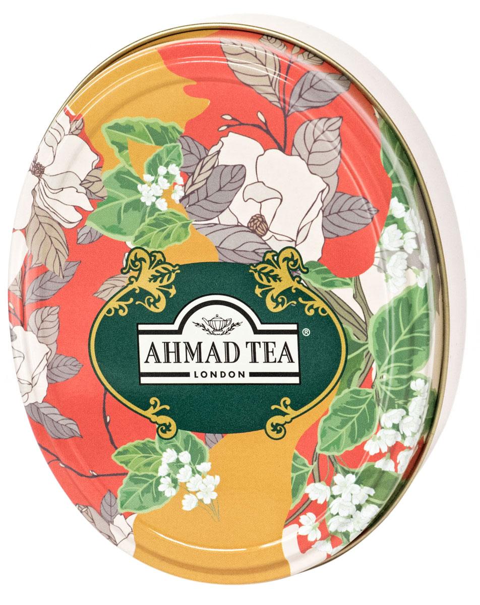 Ahmad Tea Английская Традиция черный листовой чай, 40 г (ж/б)1523Дуэт вкусов ассамского и цейлонского чая Ahmad Tea Английская Традиция таит загадку, разгадывать которую можно бесконечно, как и любоваться завораживающим терракотовым оттенком этого напитка. Чай не терпит суеты, как истинный последователь английской традиции, он несет расслабление и сосредоточение, сохраняя внутреннюю силу вкуса до последнего глотка.