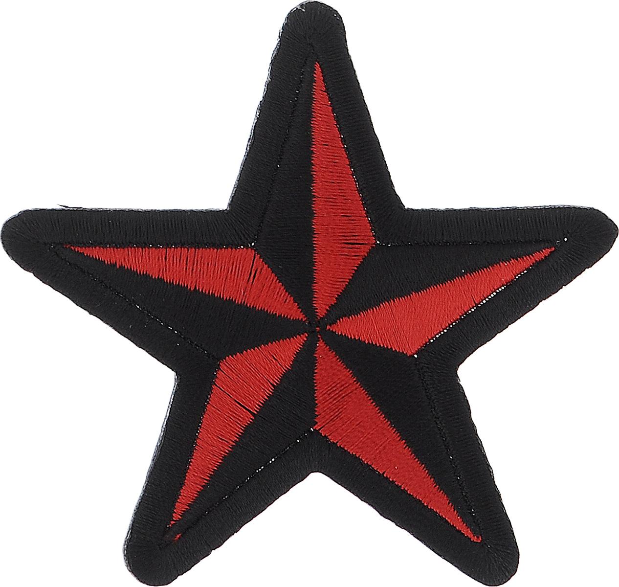 Термоаппликация Hobby&Pro Звезда, 7,5 х 7,5 см678060_ черный, красныйТермоаппликация Hobby&Pro Звезда изготовлена из текстиля. Изделие закрепляется на ткани при помощи утюга. Установите утюг на отметку Max, расположите аппликацию на изделии и прогладьте несколько раз через ткань с лицевой и изнаночной стороны. С такой термоаппликацией вы сможете обновить старые джинсы, рубашки, кофты, детскую одежду, вещь станет неповторимой и особенной.