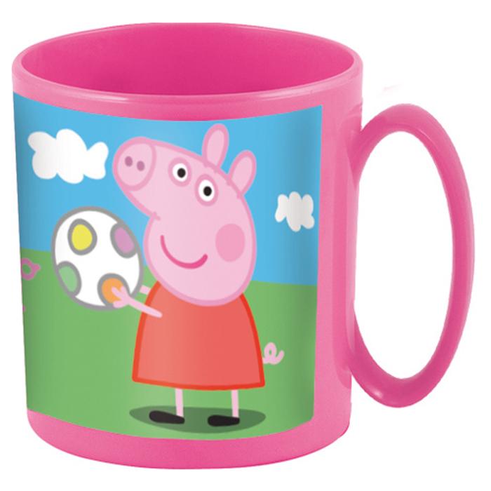 Peppa Pig Кружка детская Свинка Пеппа 350 мл48604Кружка ПЕППА ПИГ 350 мл