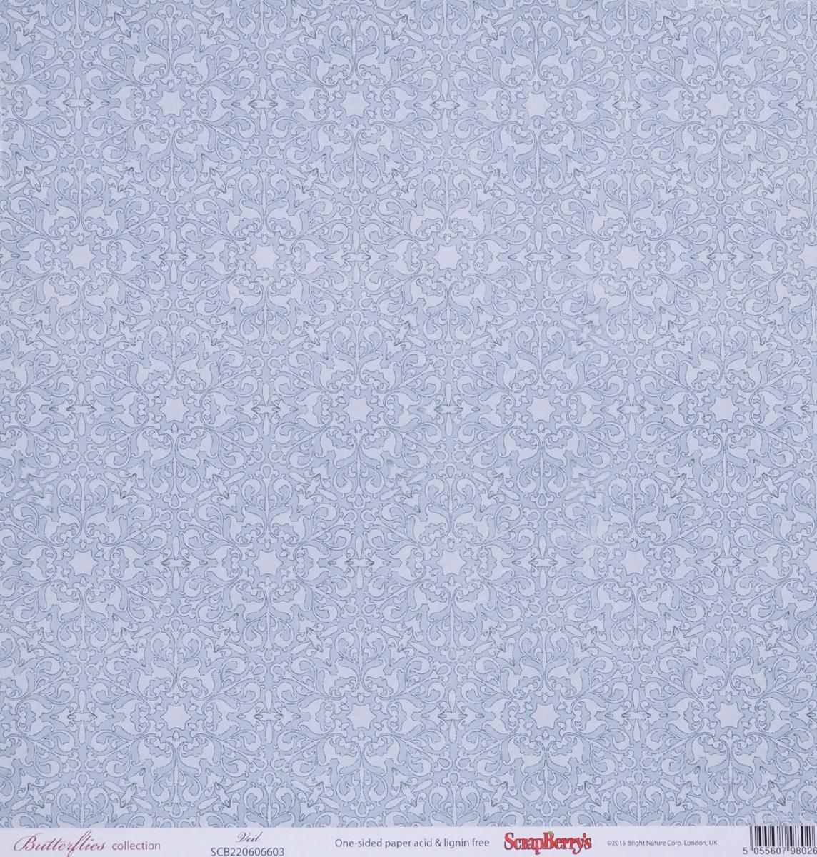 Бумага для скрапбукинга ScrapBerrys Бабочки. Вуаль, 30,5 х 30,5 см, 10 листовSCB220606603Бумага для скрапбукинга ScrapBerrys Бабочки. Вуаль позволит создать красивый альбом, фоторамку или открытку ручной работы, оформить подарок или аппликацию. Набор включает в себя 10 листов из плотной бумаги с односторонней печатью. Бумага не содержит кислоты и лигнина. Скрапбукинг - это хобби, которое способно приносить массу приятных эмоций не только человеку, который этим занимается, но и его близким, друзьям, родным. Это невероятно увлекательное занятие, которое поможет вам сохранить наиболее памятные и яркие моменты вашей жизни, а также интересно оформить интерьер дома. Размер листа: 30,5 х 30,5 см. Плотность бумаги: 190 г/м2.