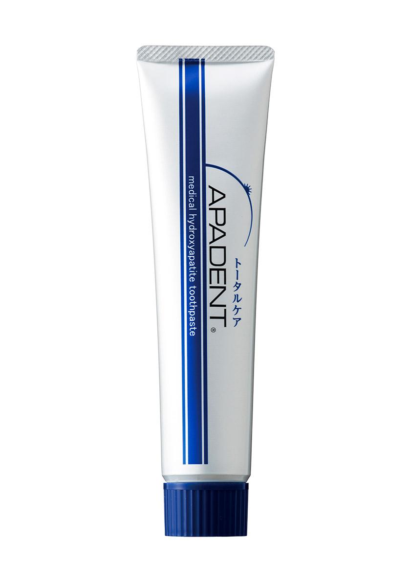 Apadent Реминерализующая зубная паста, 120 г00-00000223Первая в мире зубная паста APADENT с наночастицами медицинского гидроксиапатита (nano-mHAP) - эффективное профилактическое средство, восстанавливает минеральный баланс зубных тканей и зубной эмали, предотвращает и борется с кариесом, обеспечивает эффективную гигиену и защиту полости рта. - премиальная противокариесная зубная паста с наночастицами, произведена в Японии - основное действующее вещество - nano-mHAP - восстанавливает зубную эмаль - эффективно удаляет зубной налет - одобрена Минздравом Японии как противокариесное средство - предотвращает кариес на 46% APADENT - зубная паста для всей семьи, рекомендована взрослым и детям, а также мамам и людям, носящим брекеты.