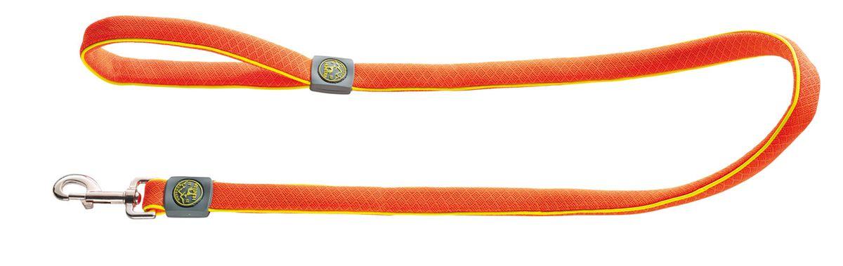 Поводок для собак Hunter Maui 25 / 120 сетчатый текстиль оранжевый92712Hunter Поводок для собак Maui 25/120 сетчатый текстиль оранжевый Поводок выполнен из невероятно мягкого и легкого текстильного материала. Длина 120 см, ширина 2,5 см.