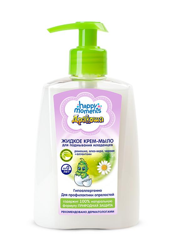 Дракоша Жидкое крем-мыло Для подмывания младенцев 250 мл