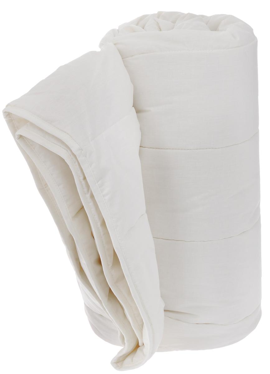 Одеяло всесезонное OL-Tex Miotex, наполнитель: овечья шерсть, цвет: сливочный, 140 х 205 смМШП-15-3Всесезонное одеяло OL-Tex Miotex создаст комфорт и уют во время сна. Чехол выполнен из полиэстера и хлопка. Внутри - наполнитель из натуральной овечьей шерсти. Одеяло простегано и окантовано, стежка равномерно удерживает наполнитель внутри. Свойства шерсти уникальны, а шерсть овцы человек с древних времен использует себе на пользу. Овечья шерсть воздухопроницаема и гигроскопична, она имеет между ворсинками воздушные пузырьки, что обеспечивает прекрасную терморегуляцию. Шерсть прогревает тело сухим теплом, успокаивает боль, создает атмосферу комфорта, помогает бороться со стрессом, обладает успокаивающим эффектом. Всесезонное одеяло из натуральной овечьей шерсти удобно и комфортно, оно создаст оптимальный микроклимат в постели, бережно окутывая сухим теплом. Под таким одеялом вам будет комфортно в любое время года. Рекомендации по уходу: - Нельзя стирать. - Нельзя отбеливать. - Не гладить. Не применять обработку паром. - Нельзя...