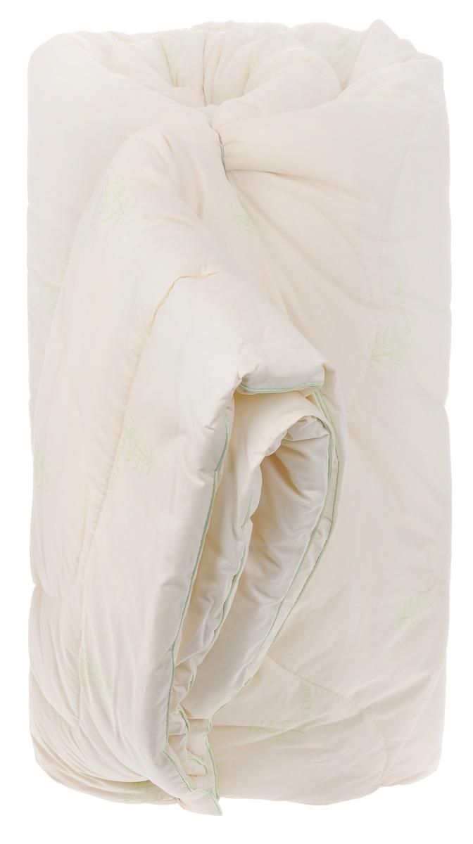 Одеяло зимнее La Prima Бамбук, наполнитель: бамбук, полиэфирное волокно, цвет: молочный, 205 х 220 см00000004Одеяло La Prima Бамбук - лучший выбор для комфортного и здорового сна и отдыха. Чехол выполнен из тика (100% хлопок). Наполнитель - бамбук с добавлением полиэфирного волокна. Одеяло простегано и окантовано, стежка равномерно удерживает наполнитель внутри. Бамбуковое волокно - натуральный растительный наполнитель, обеспечивающий комфорт и здоровый сон. Уникальная пористая структура волокна позволяет свободно дышать - создает эффект свежести во время сна. Одеяло обладает естественными антибактериальными свойствами, успокаивает и восстанавливает во время сна, гипоаллергенно. Зимнее одеяло из бамбука удобно и комфортно, оно создаст оптимальный микроклимат в постели в холодное время года. Рекомендации по уходу: - Стирка при температуре 30°С. - Не использовать отбеливатели. - Барабанная сушка при более низкой температуре. - Не гладить. - Профессиональная мокрая чистка, мягкий режим. Наполнитель: 40% бамбук, 60%...
