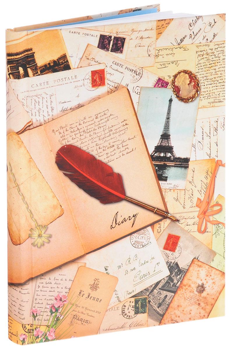 Listoff Ежедневник Винтажные открытки недатированный 152 листа
