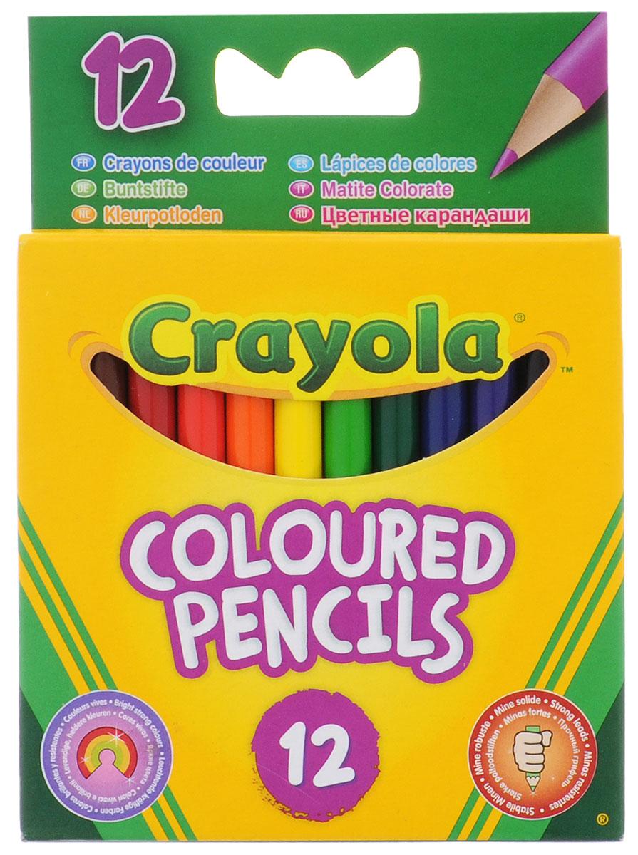 Crayola Набор цветных карандашей 12 шт 4112_1