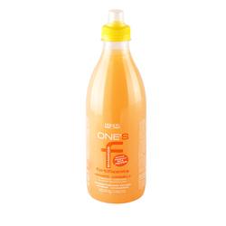 Dikson One's Укрепляющий шампунь с протеинами риса. Апельсин-корица Shampoo Fortificante 1000 мл645Dikson One's Shampoo Fortificante с протеинами риса мягко и интенсивно очищает ослабленные и тонкие волосы. Обеспечивает питание и укрепление волосяных фолликулов, дарит локонам шелковистость и блеск, делает волосы плотными и упругими, не утяжеляя их. В состав шампуня входят активные вещества: гидролизованные протеины риса, микроэлементы, минеральные соли, витамины, энзимы и жирные кислоты. Комплекс этих компонентов идеально очищает волосы, увлажняет их и укрепляет.