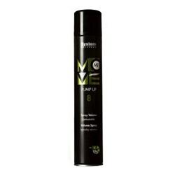 Dikson Move Лак спрей для придания объема волосам Me 8 Pump Up 500 млdikson2108Великолепное средство для пластичной фиксации прически. Лак идеален как для придания объема у корней, так и для конечной фиксации по длине без эффекта склеивания Не матирует естественный цвет и блеск волос. Чрезвычайно деликатен по отношению к здоровью парикмахера. Степень фиксации - 3