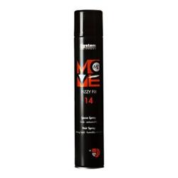 Dikson Move Лак-спрей сильной фиксации Me 14 Fizzy Fix 500 млdikson2114Лак для волос сильной фиксации с ультра легкими компонентами. Идеален для конечной фиксации, не матирует естественный блеск и цвет волос. Легко удаляется при расчесывании. Степень фиксации: 4