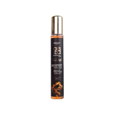 Dikson ArgaBeta Суперлегкое увлажняющее масло-спрей Beauty Oilo Light 100 млNEW2425Dikson ArgaBeta Beauty Oilo Light – Супер легкое увлажняющее масло-спрей от известного бренда Диксон быстро увлажняет и преображает даже самые уставшие и сухие волосы. Это стало возможным благодаря мощному антиоксидантному эффекту арганового масла и гидратирующим свойствам бета-каротина. При регулярном использовании спрея Вы забудете о том, что такое секущиеся кончики и поврежденные волосы, потому что он образует тончайшую пленку, которая, несмотря на свою толщину, способна стать барьерным экраном от УФ-лучей и выцветания пигмента. Средство нормализует водный баланс, делает волосы блестящими и послушными. Его активная формула делает заметным эффект увлажнения уже после первого использования. Практичный флакон облегчает нанесение волос, а легкая текстура способствует впитываемости.