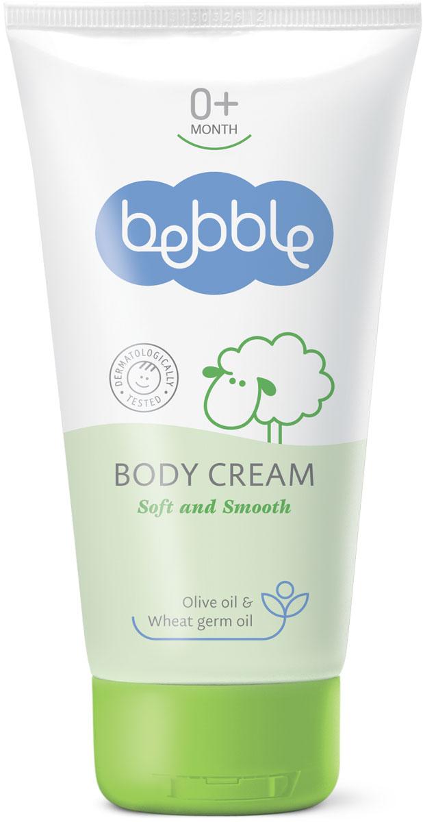 Bebble Крем для тела Body Cream 150 мл300910Легкий и нежный крем для тела bebble может только дополнить неописуемое ощущение прикосновения к мягкой коже малыша. Идеально подходит для повседневного ухода, питает и гидратирует кожу. Крем для тела легко наносится и быстро впитывается, не оставляя жирных следов. Его специальная формула богата природными маслами, которые питают и смягчают нежную кожу младенца, обеспечивая защиту в течение всего дня. Природные и активных ингредиентов в этой Bebble продукта: Масло оливы Это масло является популярным ингредиентом здорового образа жизни в течение многих веков. Богатое ненасыщенными жирами, оно быстро проникает в кожу и обеспечивает глубокое увлажнение. Помогает смягчить кожу, оставляя приятное ощущение шелковистости. Масло зародышей пшеницы Масло зародышей пшеницы является абсолютным чемпионом по содержанию витамина E. А также богато другими витаминами (А, B, D, F, PP), пантотеновой и фолиевой кислотой, омега-жирными кислотами и бета-глюканами; веществами, стимулирующими естественную...