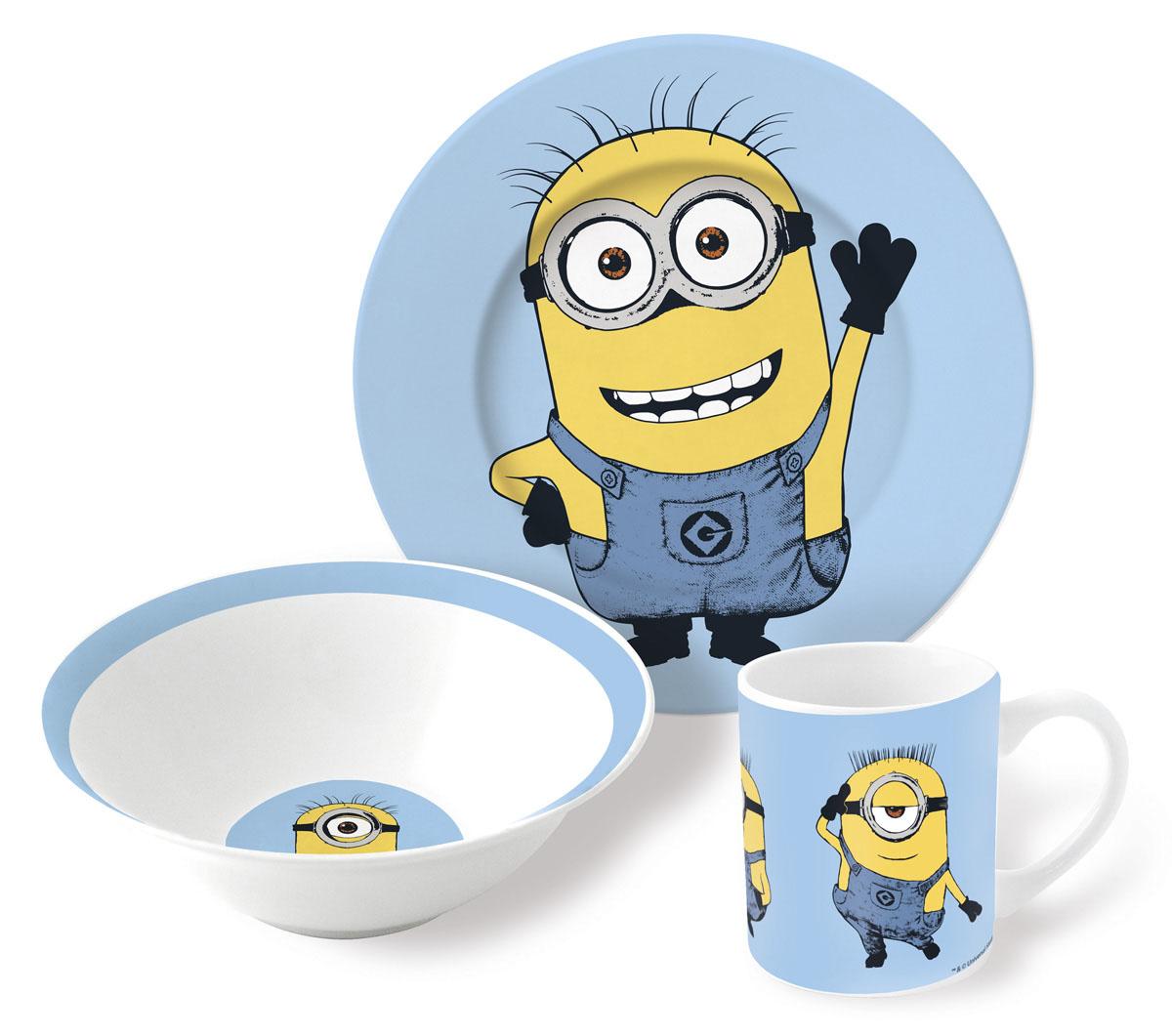 Гадкий Я Набор посуды для кормления 3 предмета