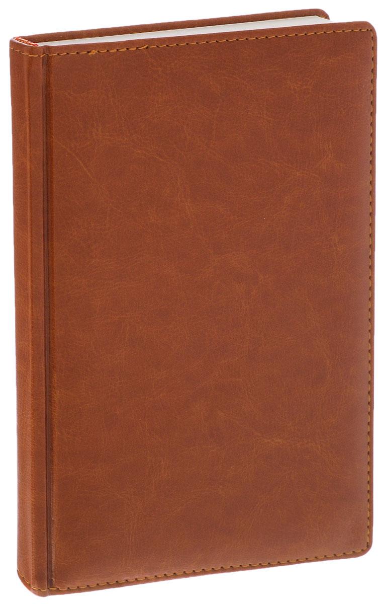 Listoff Записная книжка 120 листов в клетку цвет коричневый КЗК51201651