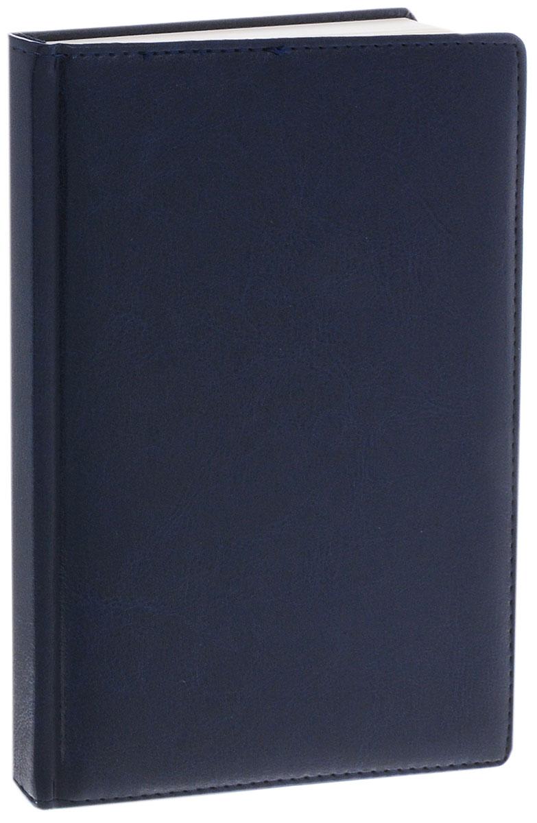 Listoff Записная книжка 120 листов в клетку цвет синий КЗК512081