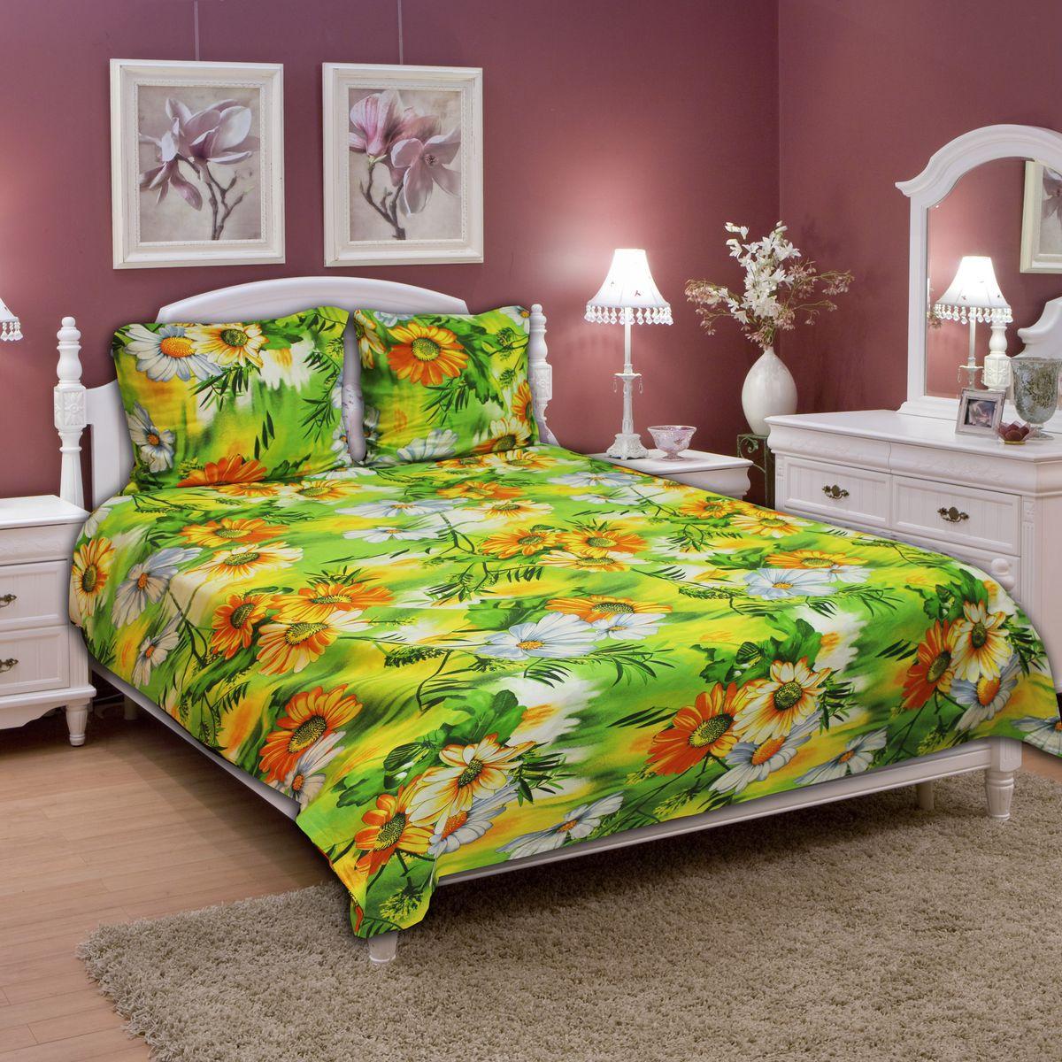 Комплект белья Amore Mio Meadow, 1,5-спальный, наволочки 70х7077696Постельное белье из бязи практично и долговечно, а самое главное - это 100% хлопок! Материал великолепно отводит влагу, отлично пропускает воздух, не капризен в уходе, легко стирается и гладится. Новая коллекция Naturel 3-D дизайнов позволит выбрать постельное белье на любой вкус!