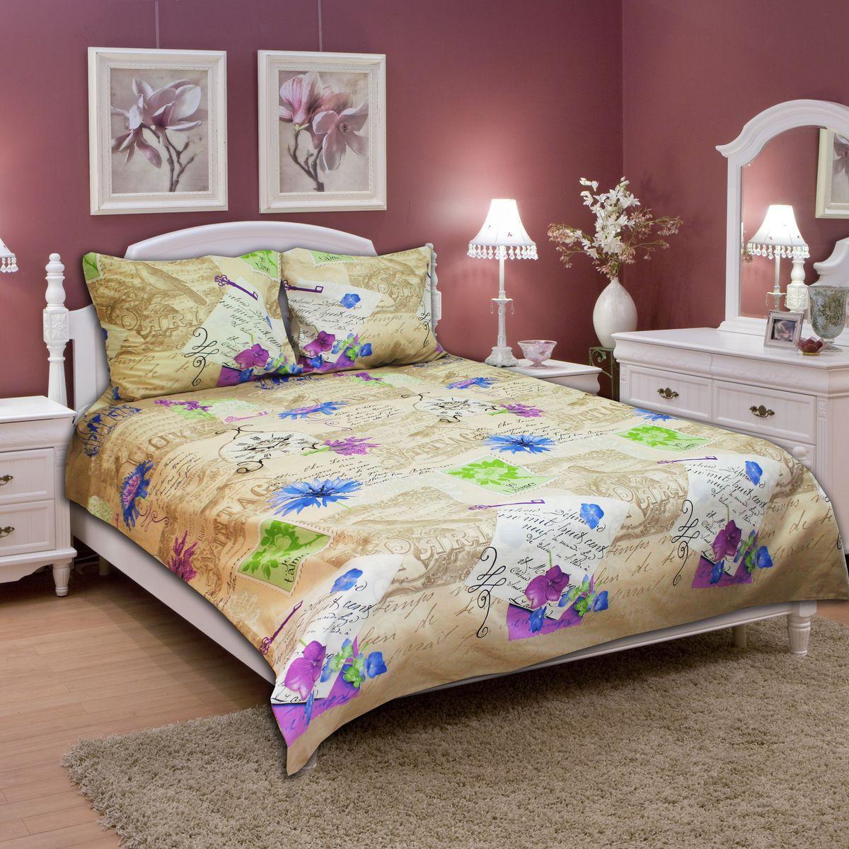 Комплект белья Amore Mio Flower, 1,5-спальный, наволочки 70х7077702Постельное белье из бязи практично и долговечно, а самое главное - это 100% хлопок! Материал великолепно отводит влагу, отлично пропускает воздух, не капризен в уходе, легко стирается и гладится. Новая коллекция Naturel 3-D дизайнов позволит выбрать постельное белье на любой вкус!