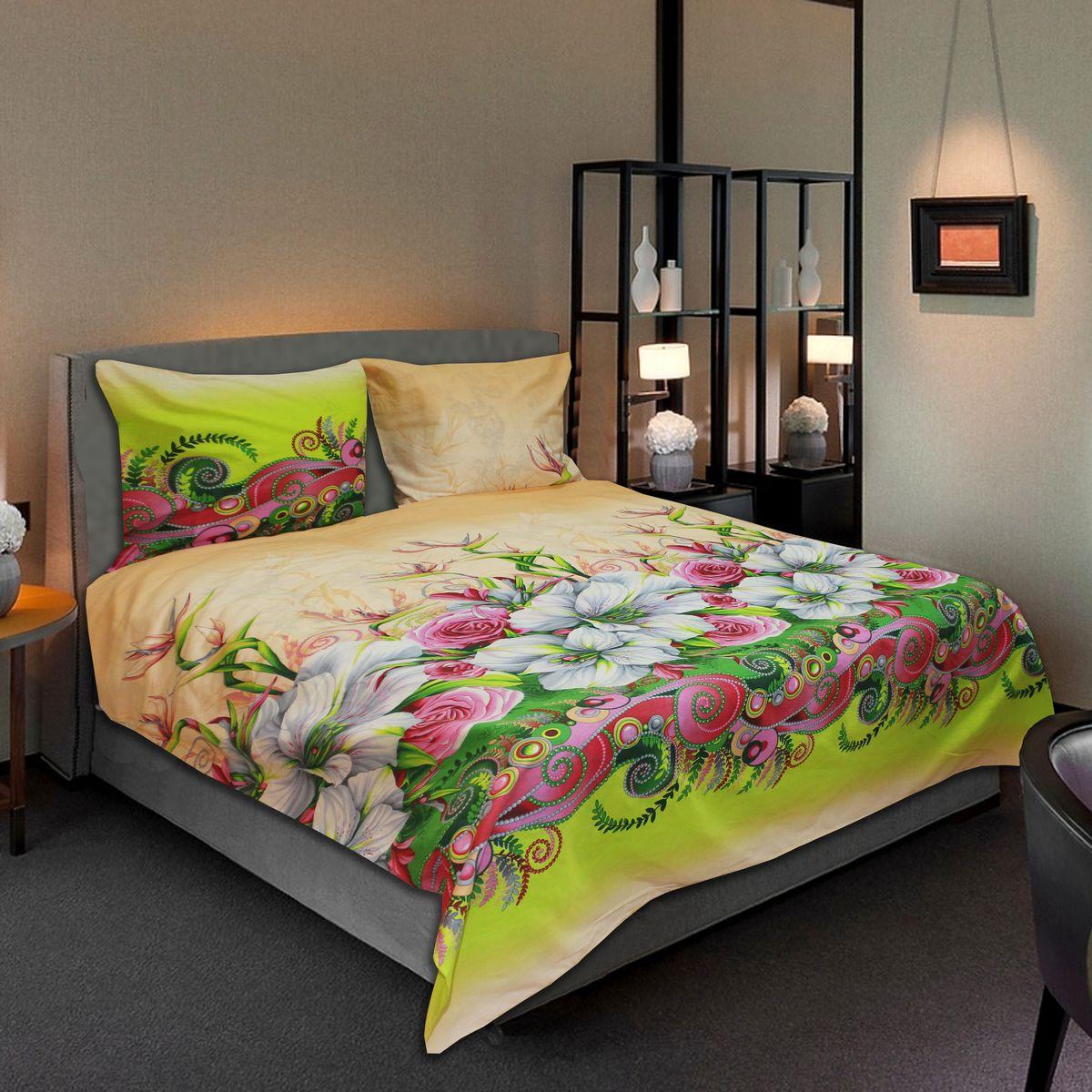 Комплект белья Amore Mio Sweet, 2-спальный, наволочки 70х7077714Комплект постельного белья Amore Mio является экологически безопасным для всей семьи, так как выполнен из бязи (100% хлопок). Комплект состоит из пододеяльника, простыни и двух наволочек. Постельное белье оформлено оригинальным рисунком и имеет изысканный внешний вид. Легкая, плотная, мягкая ткань отлично стирается, гладится, быстро сохнет. Рекомендации по уходу: Химчистка и отбеливание запрещены. Рекомендуется стирка в прохладной воде при температуре не выше 30°С.