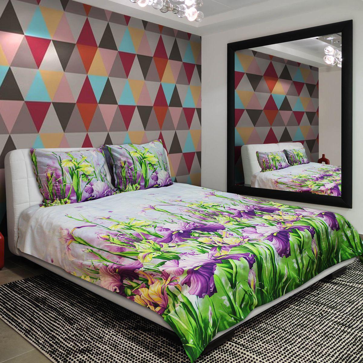 Комплект белья Amore Mio Bright, 2-спальный, наволочки 70х7077715Постельное белье из бязи практично и долговечно, а самое главное - это 100% хлопок! Материал великолепно отводит влагу, отлично пропускает воздух, не капризен в уходе, легко стирается и гладится. Новая коллекция Naturel 3-D дизайнов позволит выбрать постельное белье на любой вкус!