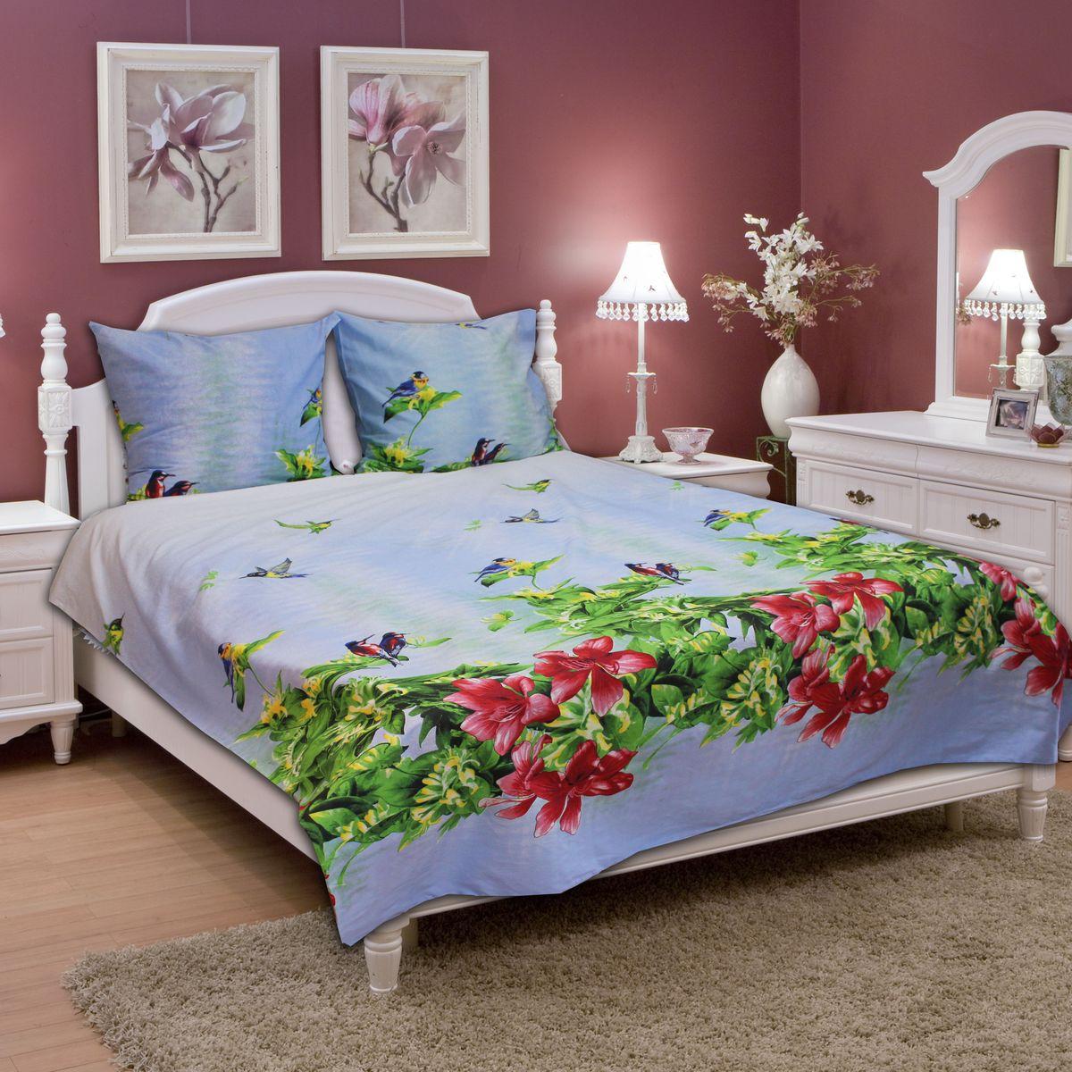 Комплект белья Amore Mio Summer, 2-спальный, наволочки 70х7077717Постельное белье из бязи практично и долговечно, а самое главное - это 100% хлопок! Материал великолепно отводит влагу, отлично пропускает воздух, не капризен в уходе, легко стирается и гладится. Новая коллекция Naturel 3-D дизайнов позволит выбрать постельное белье на любой вкус!