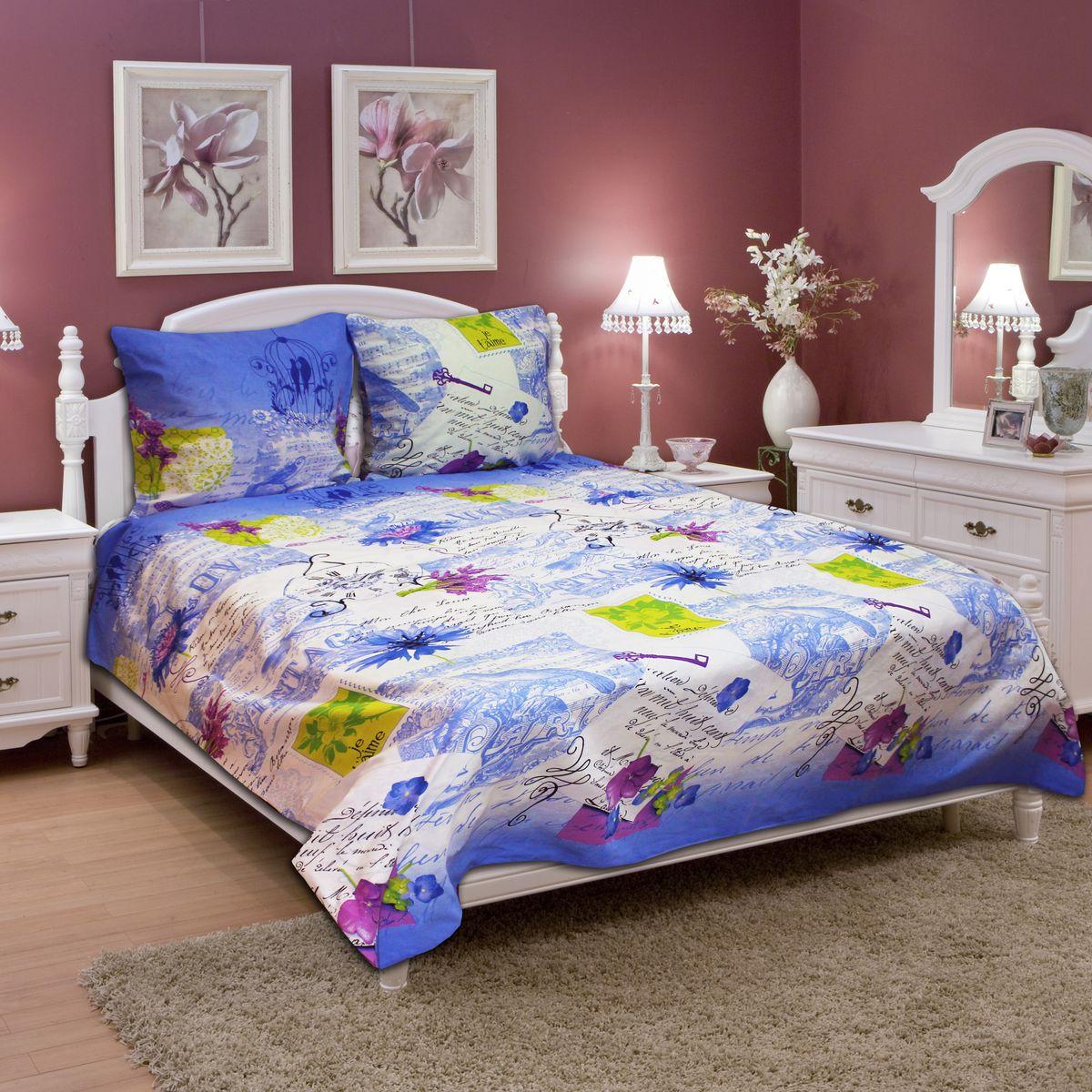 Комплект белья Amore Mio Flower BL, 2-спальный, наволочки 70х7077723Постельное белье из бязи практично и долговечно, а самое главное - это 100% хлопок! Материал великолепно отводит влагу, отлично пропускает воздух, не капризен в уходе, легко стирается и гладится. Новая коллекция Naturel 3-D дизайнов позволит выбрать постельное белье на любой вкус!