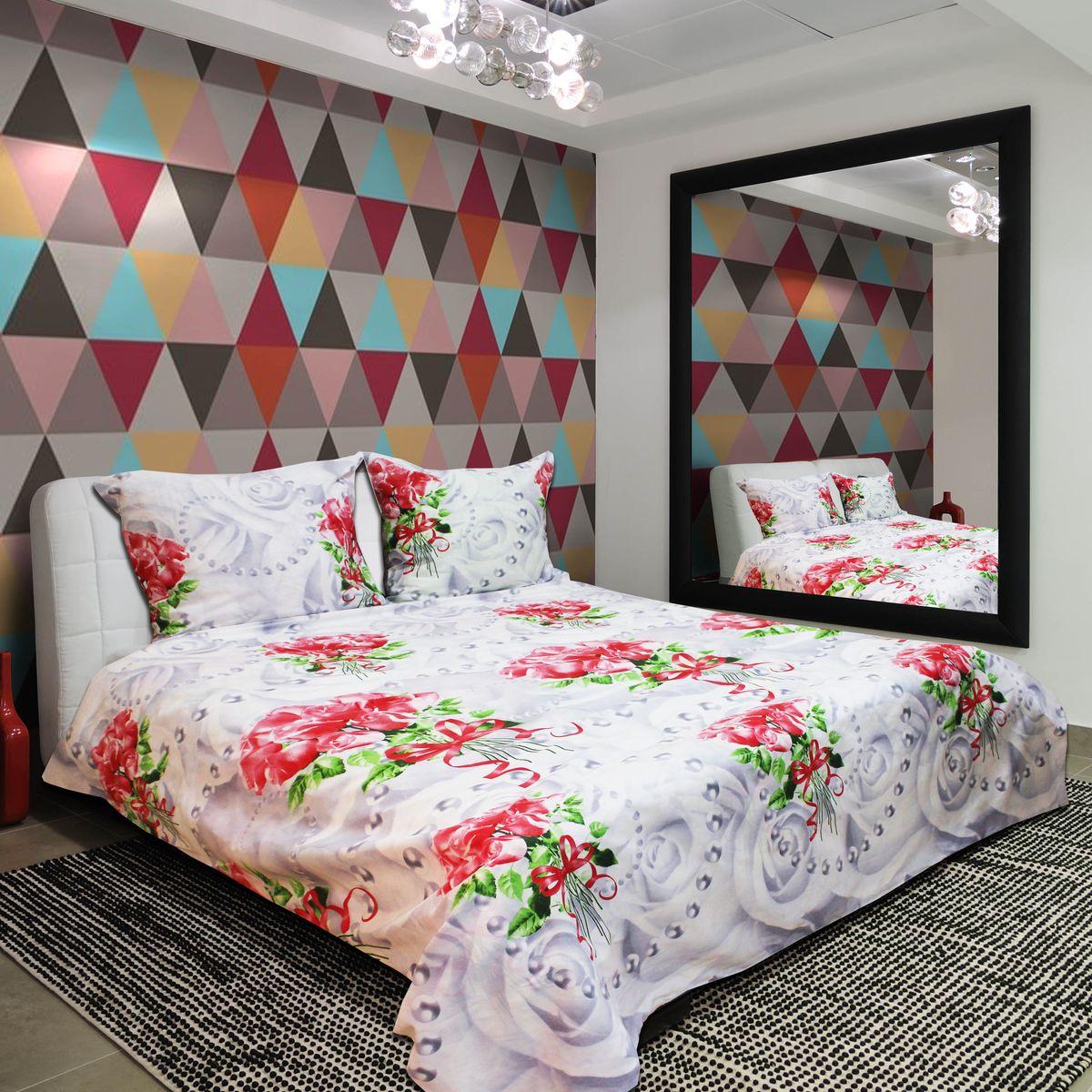 Комплект белья Amore Mio Pearl, 2-спальный, наволочки 70х7077727Постельное белье из бязи практично и долговечно, а самое главное - это 100% хлопок! Материал великолепно отводит влагу, отлично пропускает воздух, не капризен в уходе, легко стирается и гладится. Новая коллекция Naturel 3-D дизайнов позволит выбрать постельное белье на любой вкус!