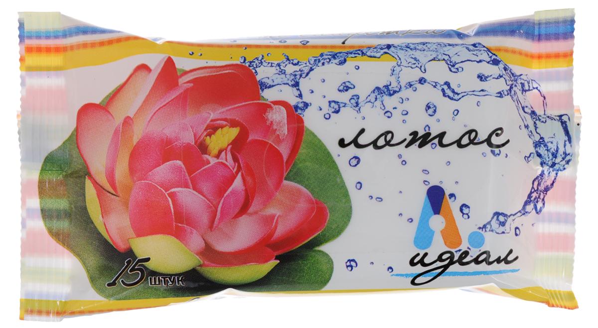 Салфетки влажные Идеал Лотос, гигиенические, 15 штСЛФ28409Влажные салфетки Идеал Лотос изготовлены из нетканого материала и пропитывающего лосьона. Они предназначены для очищения кожи рук и тела. Экстракт лотоса обладает выраженным смягчающим и увлажняющим действием, эффективно успокаивает и освежает кожу. Салфетки Идеал Лотос подходят для всех типов кожи. Состав: нетканое волокно; пропитывающий лосьон: деминерализованная вода, ПЭГ-40 гидрогенизированное касторовое масло, глицерин, цетилтриметиламмоний хлорид, ундециленамидопропилтримониум метосульфат, трилон Б, аллантион, Д-пантенол, экстракт лотоса, метилхлоризотиазолинон, метилизотиазолинон, отдушка. Товар сертифицирован.