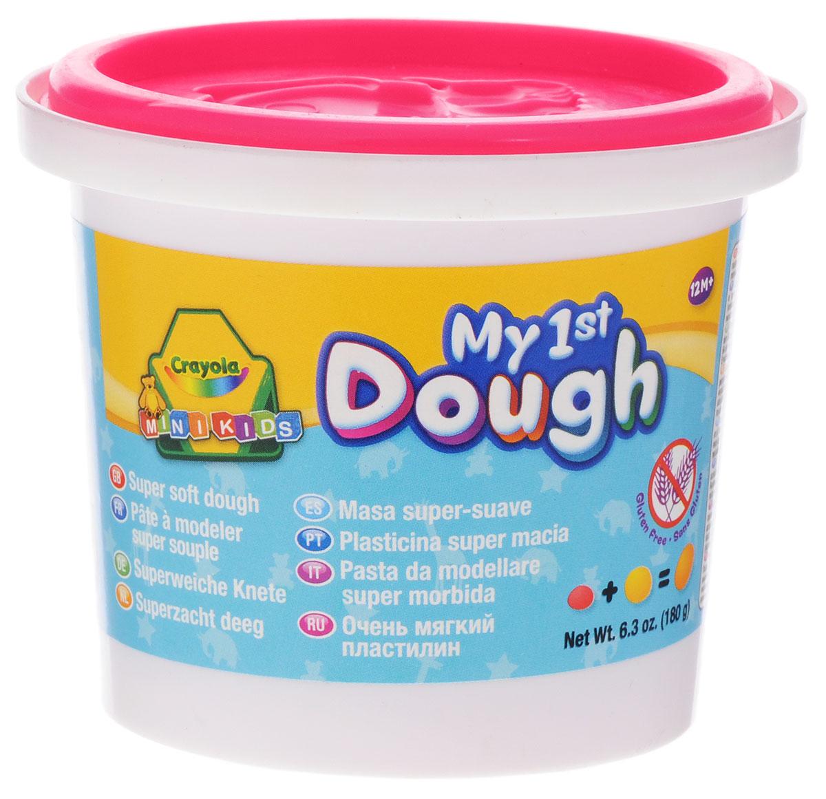 Crayola Масса для лепки My 1st Dough Собачка цвет розовый7945_собачка розовыйМасса для лепки Crayola My 1st Dough. Собачка, предназначенная для лепки и моделирования, поможет малышу развить творческие способности, воображение и мелкую моторику рук. Очень мягкий, пластилин хорошо мнется и быстро высыхает. Окрашен безопасным красителем. В крышке имеется формочка с изображением собачки. Лепка из пластилина - необычайно занимательный процесс не только для детей, но и для взрослых.
