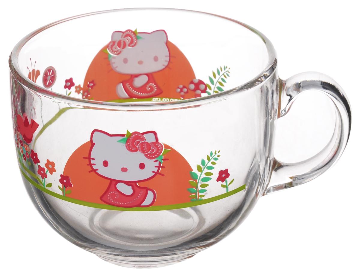 Кружка Luminarc Джамбо, 400 млH5527Кружка Luminarc Джамбо изготовлена из ударопрочного стекла. Такая кружка прекрасно подойдет для горячих и холодных напитков. Она дополнит коллекцию вашей кухонной посуды и будет служить долгие годы. Диаметр кружки (по верхнему краю): 10,5 см.