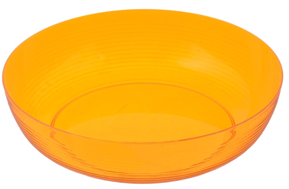Фруктовница Berossi Fresh, цвет: апельсин, диаметр 23 смИК14750000Оригинальная фруктовница Berossi Fresh изготовлена из высококачественного нетоксичного пластика. Она идеально подходит для хранения и красивой сервировки любых фруктов. Современный дизайн отлично впишется в интерьер вашей кухни. Вместительная фруктовница Berossi Fresh позволит красиво уложить фрукты, сделав сервировку стола изысканной и незабываемой. Диаметр (по верхнему краю): 23 см.
