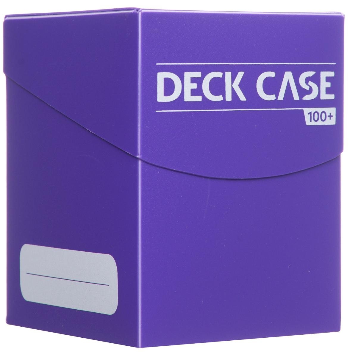 Ultimate Guard Коробочка для карт на 100 шт цвет фиолетовый08UG001_фиолетовыйКоробочка для карт Ultimate Guard вмещает в себя до 100 карт в двойных протекторах или до 120 карт в обычных. Тонкие стенки коробочки позволяют ей быть легкой, и в то же время достаточно прочной, чтобы сохранить колоды в отличном виде. Удобная крышка не позволит картам высыпаться. На внешней стороне коробочки предусмотрены места для записей. Коробочка дополнена одной картой-делителем.