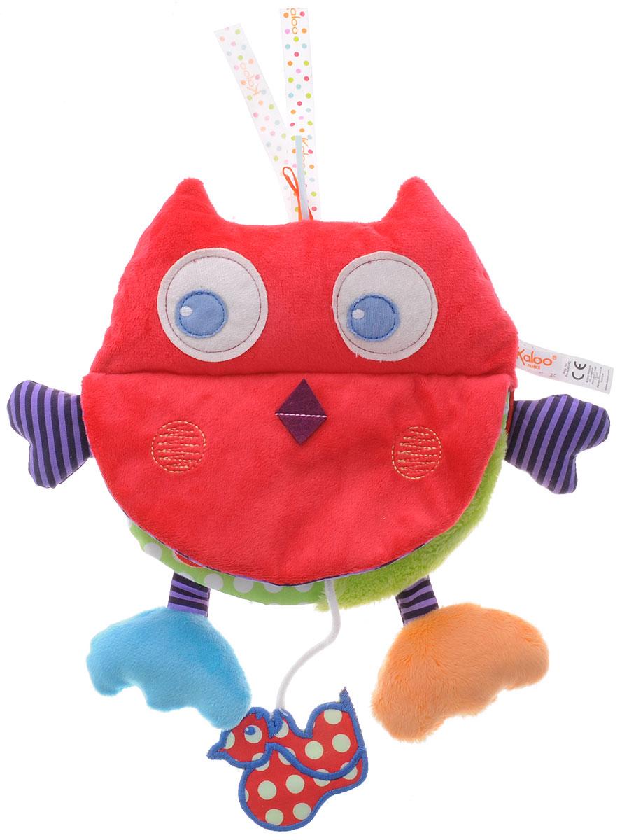 Kaloo Развивающая книжка-игрушка СоваK963325Развивающая книжка-игрушка Kaloo Совастанет прекрасной развивающей игрой для ребенка и прекрасным подарком. Игрушка представляет собой книжку из текстиля с несколькими страничками. Внутри книжки есть множество развивающих элементов, которые будут привлекать внимание малыша. Шуршащие элементы, безопасное зеркальце, разнофактурные ткани, кармашек с белочкой... - все это малыш найдет внутри этой замечательной игрушки.