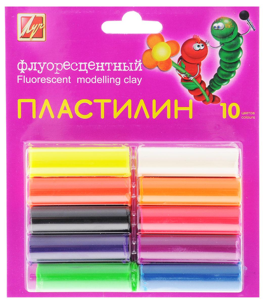 Луч Пластилин флуоресцентный 10 цветовC05056Цветной флуоресцентный пластилин Луч, предназначенный для лепки и моделирования, поможет ребенку развить творческие способности, воображение и мелкую моторику рук. Пластилин легко формуется, не прилипает к рукам, высоко пластичен, имеет яркие цвета. Пластилин безопасен для здоровья при использовании по назначению. В наборе 10 цветов.