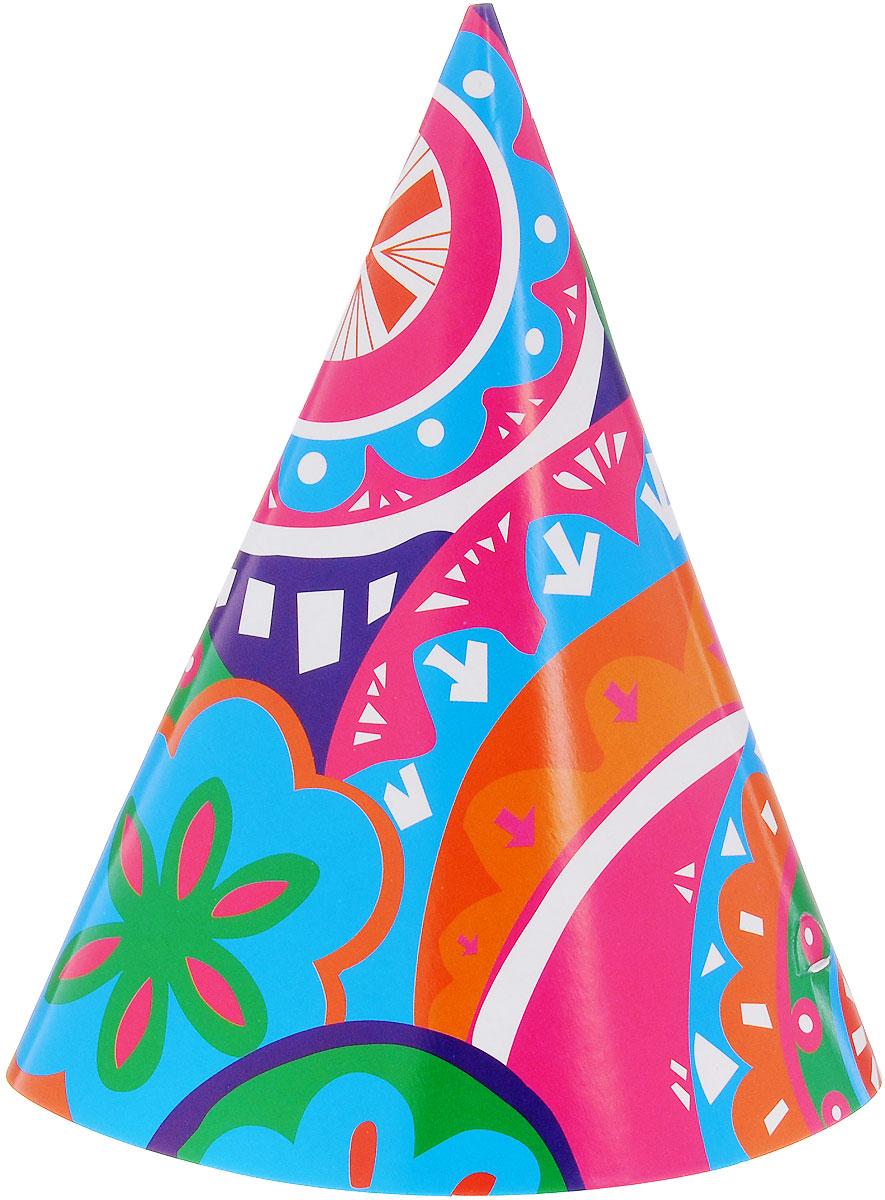 Action! Набор колпаков Ассорти 6 штAPI0121Забавные колпаки Action! Ассорти, выполненные из картона - неотъемлемые аксессуары любого праздника. Изделия декорированы веселыми праздничными изображениями. Яркие колпаки Ассорти станут завершающим штрихом в создании праздничного образа. В наборе 6 колпаков.