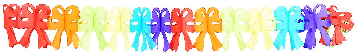 Action! Гирлянда праздничная БантыAPI0171Гирлянда праздничная Action! Банты представлена в виде разноцветных бантиков. Гирлянда легко и просто развешивается над потолком, создавая атмосферу волшебного праздника! Украшение выполнено из безопасных материалов, соответствующих европейским стандартам качества. Длина гирлянды: 4 метра.