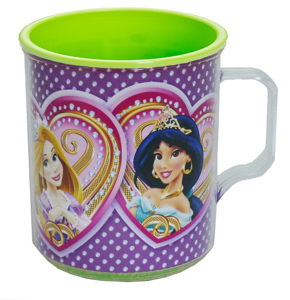 Disney Термокружка детская Принцессы в сердечках