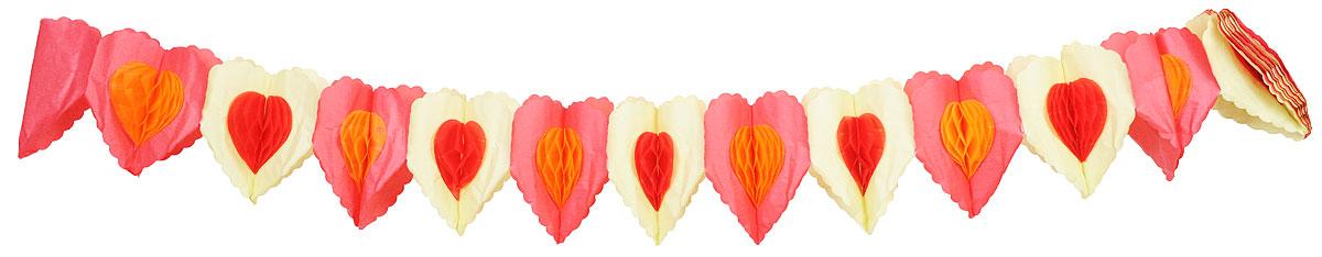 Action! Гирлянда праздничная СердечкиAPI0172Праздничная гирлянда Action! Сердечки состоит из разноцветных элементов в форме сердечек. Гирлянда легко и просто развешивается над потолком, создавая атмосферу волшебного праздника! Украшение выполнено из безопасных материалов, соответствующих европейским стандартам качества. Длина гирлянды: 3 метра.