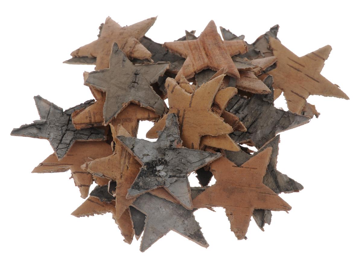 Декоративный элемент Dongjiang Art Звезда, цвет: натуральное дерево, 30 шт7709006_нат/деревоДекоративные элементы Dongjiang Art Звезда, изготовленные из натуральной коры дерева, предназначены для украшения цветочных композиций. Изделия можно также использовать в скрапбукинге и многом другом. Флористика - вид декоративно-прикладного искусства, который использует живые, засушенные или консервированные природные материалы для создания флористических работ. Это целый мир, в котором есть место и строгому математическому расчету, и вдохновению. Размер одного элемента: 3,5 см х 3,5 см.