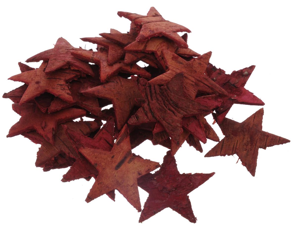Декоративный элемент Dongjiang Art Звезда, цвет: красный, 30 шт7709006_красныйДекоративные элементы Dongjiang Art Звезда, изготовленные из натуральной коры дерева, предназначены для украшения цветочных композиций. Изделия можно также использовать в скрапбукинге и многом другом. Флористика - вид декоративно-прикладного искусства, который использует живые, засушенные или консервированные природные материалы для создания флористических работ. Это целый мир, в котором есть место и строгому математическому расчету, и вдохновению. Размер одного элемента: 3,5 см х 3,5 см.