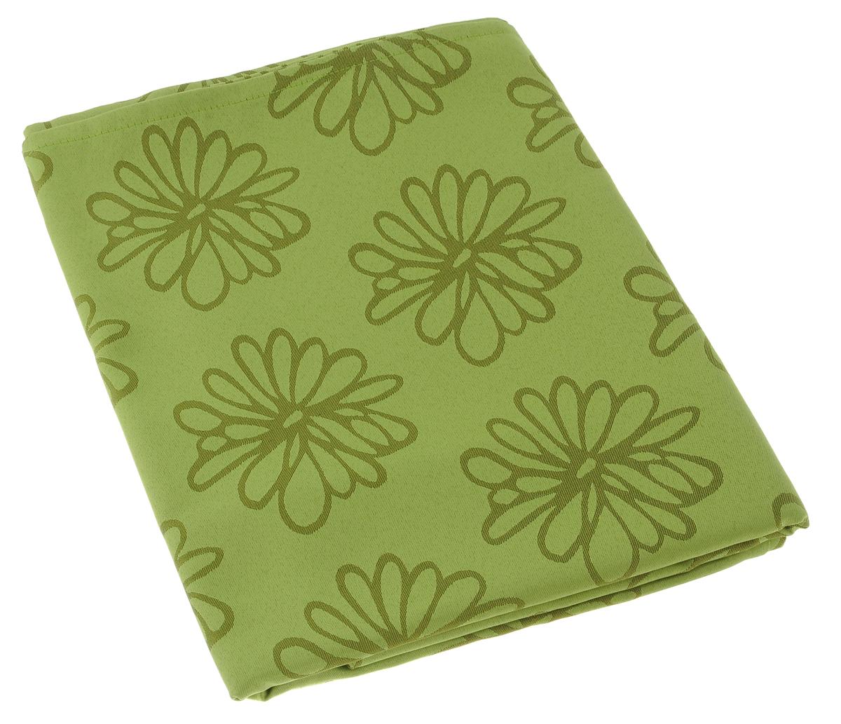 Скатерть Schaefer, прямоугольная, цвет: оливковый, 160 х 220 см. 08102-40808102-408Изящная прямоугольная скатерть Schaefer, выполненная из плотного полиэстера, станет украшением кухонного стола. Изделие декорировано красивым цветочным узором. За текстилем из полиэстера очень легко ухаживать: он не мнется, не садится и быстро сохнет, легко стирается, более долговечен, чем текстиль из натуральных волокон. Использование такой скатерти сделает застолье торжественным, поднимет настроение гостей и приятно удивит их вашим изысканным вкусом. Также вы можете использовать эту скатерть для повседневной трапезы, превратив каждый прием пищи в волшебный праздник и веселье. Это текстильное изделие станет изысканным украшением вашего дома!