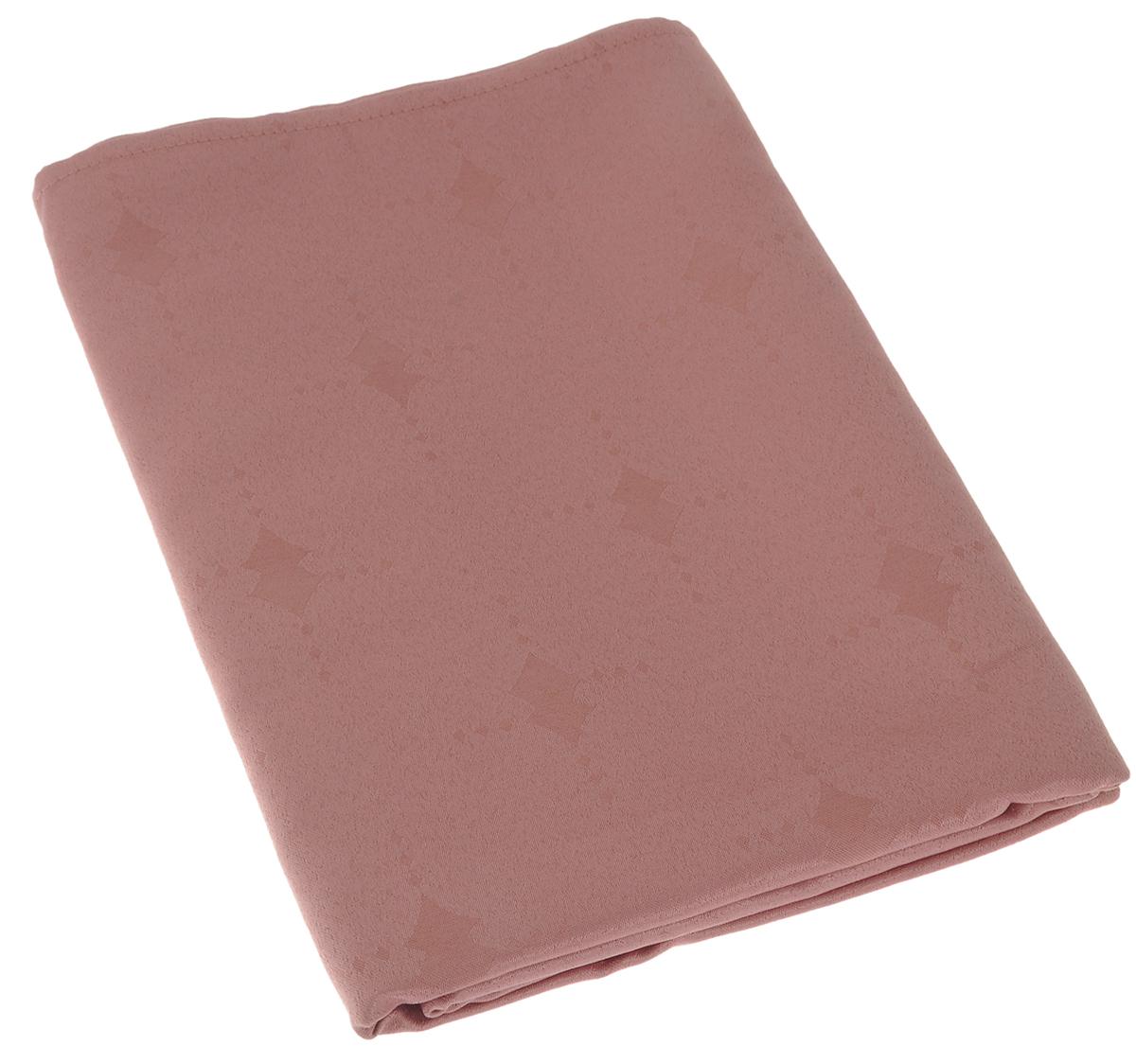 Скатерть Schaefer, прямоугольная, цвет: пепельно-розовый, 130 х 160 см. 07508-42707508-427Изящная прямоугольная скатерть Schaefer, выполненная из плотного полиэстера, станет украшением кухонного стола. Изделие декорировано красивым узором в виде ромбов. За текстилем из полиэстера очень легко ухаживать: он не мнется, не садится и быстро сохнет, легко стирается, более долговечен, чем текстиль из натуральных волокон. Использование такой скатерти сделает застолье торжественным, поднимет настроение гостей и приятно удивит их вашим изысканным вкусом. Также вы можете использовать эту скатерть для повседневной трапезы, превратив каждый прием пищи в волшебный праздник и веселье. Это текстильное изделие станет изысканным украшением вашего дома!
